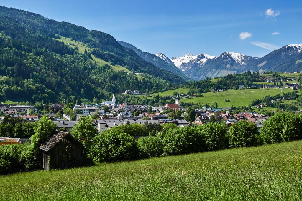 Ausblick auf die Schladming-Dachstein Region und die Berge