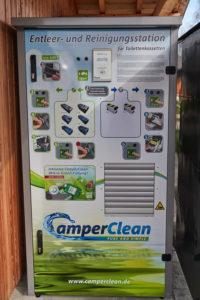 Camper Clean Reinigung Chemie Toilette
