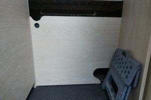 Schiebetür zum Kofferraum