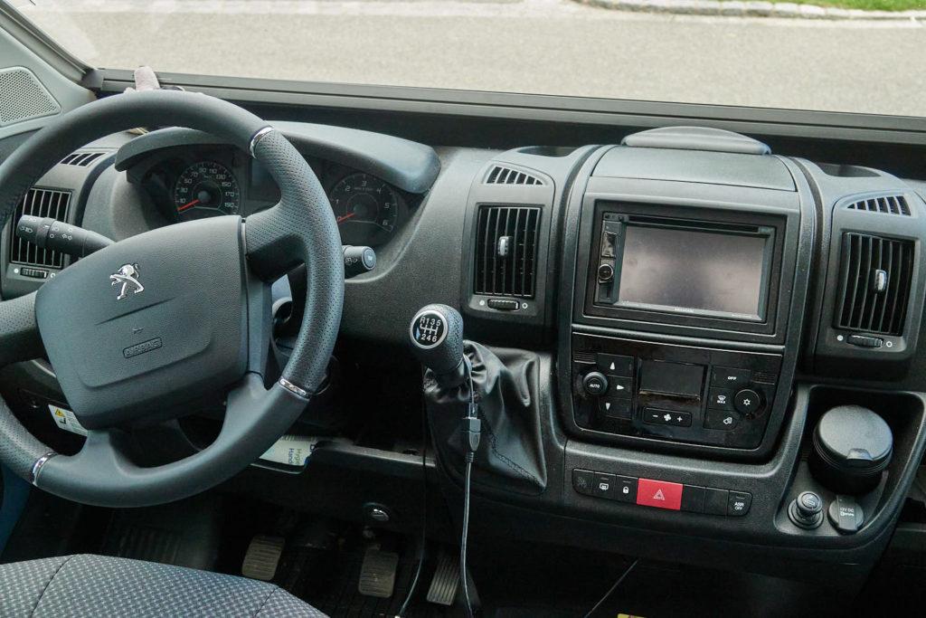 Cockpit Peugeot Boxer